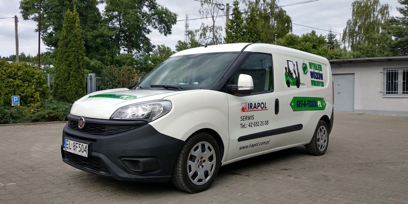 Mobilny serwis wózków widłowych Get-a-truck.pl