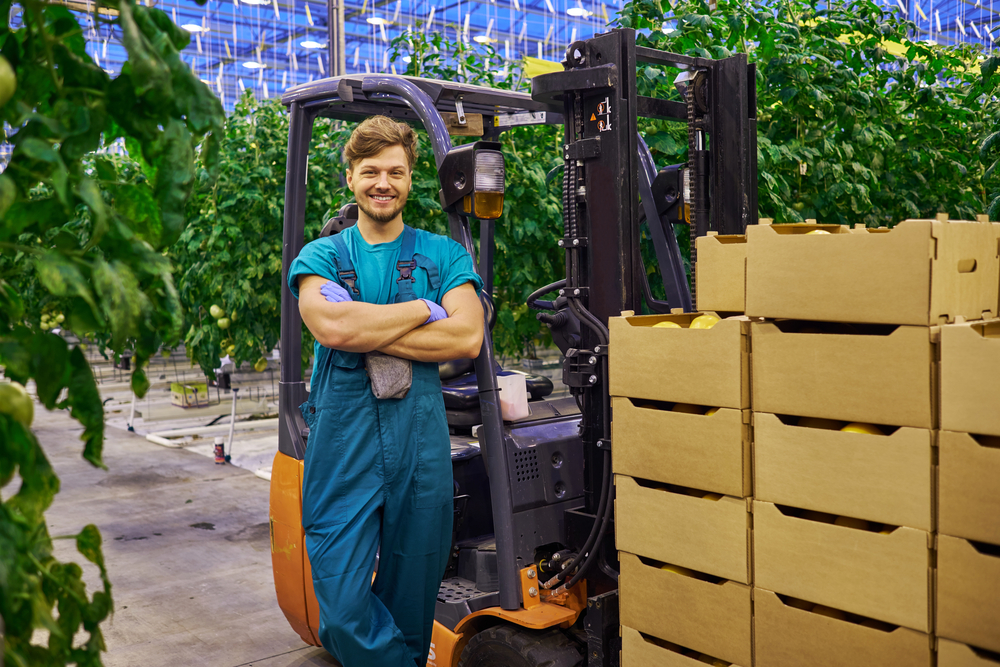 Wynajem wózka widłowego w rolnictwie - get-a-truck.pl