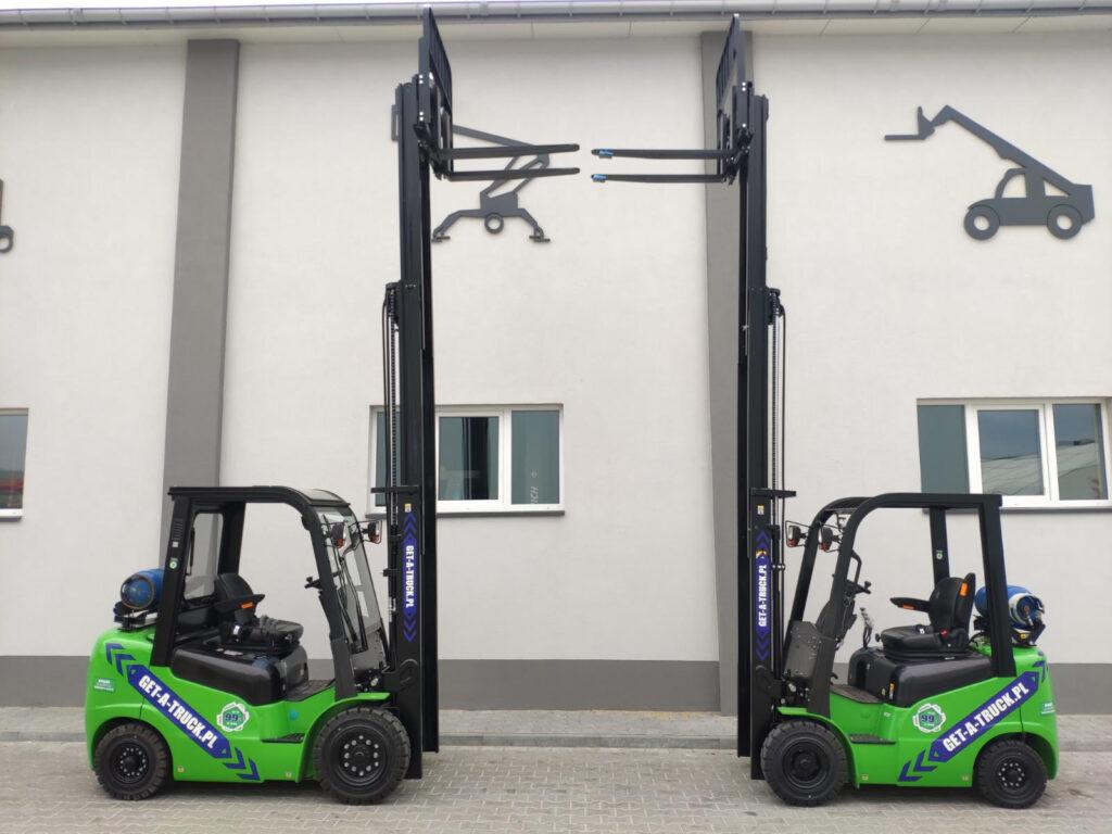 Wypożyczalnia wózków widłowych - Get-A-Truck