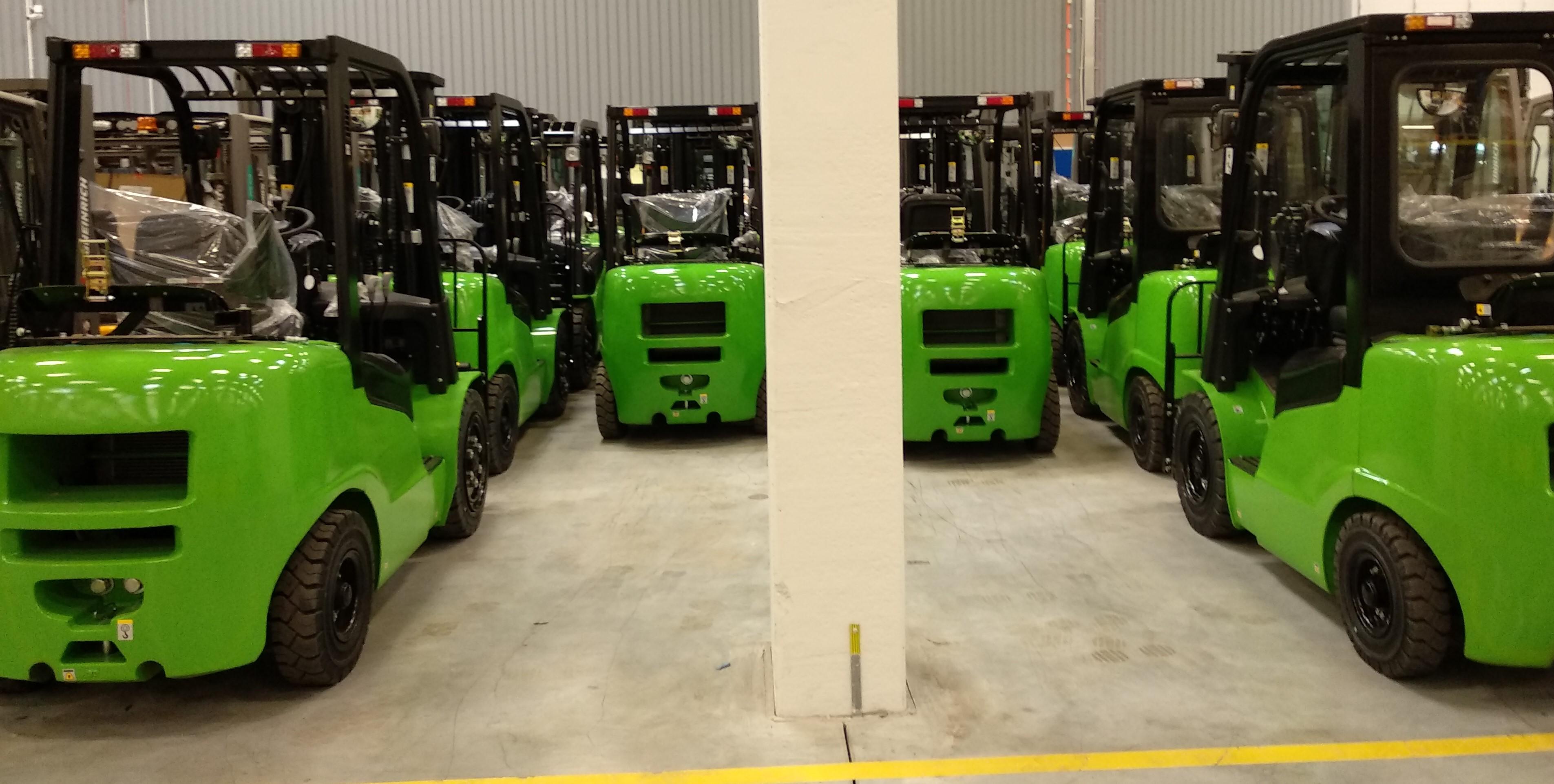 Wózki widłowe magazynowe na wynajem - Get-A-Truck