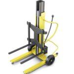 Wyposażenie magazynu – ręczne wózki podnośnikowe